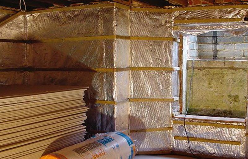 Материалы и теплоизоляция пола стен