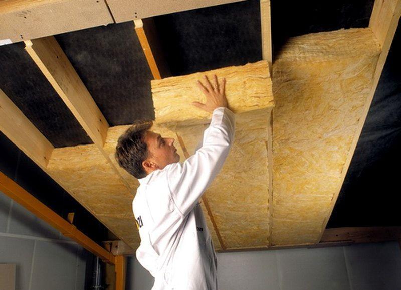 Утеплить потолок частный дом своими руками 20
